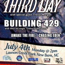 Third Day concert poster