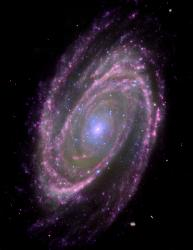 Spiral Galaxy M81 (via NASA)
